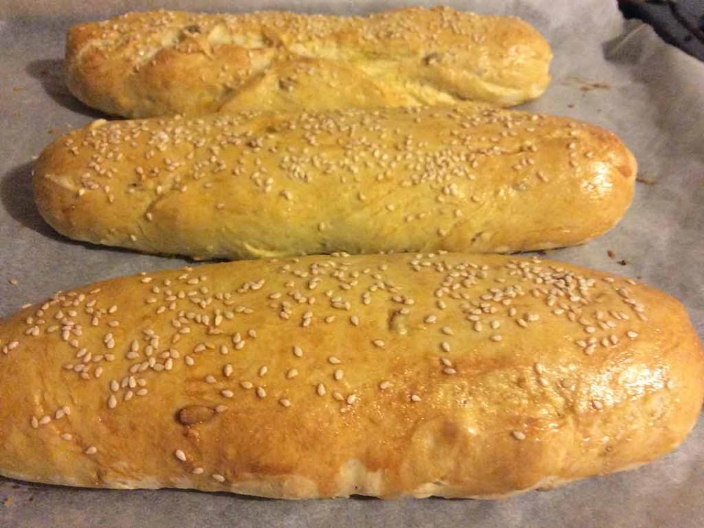 Sandwich Brot zum selber machen